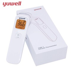 เครื่องวัดอุณหภูมิที่หน้าผากดิจิตอลแบบอินฟราเรด ยี่ห้อ Yuwell รุ่น YHW-2
